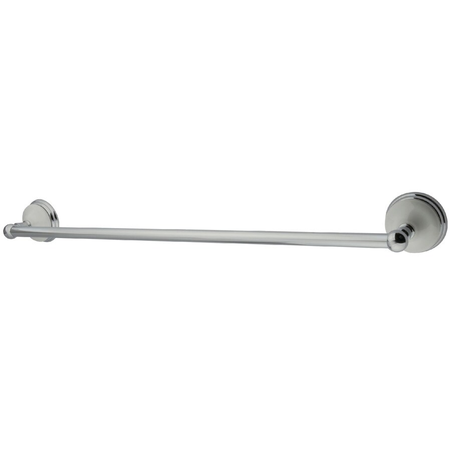 Kingston Brass Victorian Polished Chrome Single Towel Bar (Common: 24-in; Actual: 24-in)