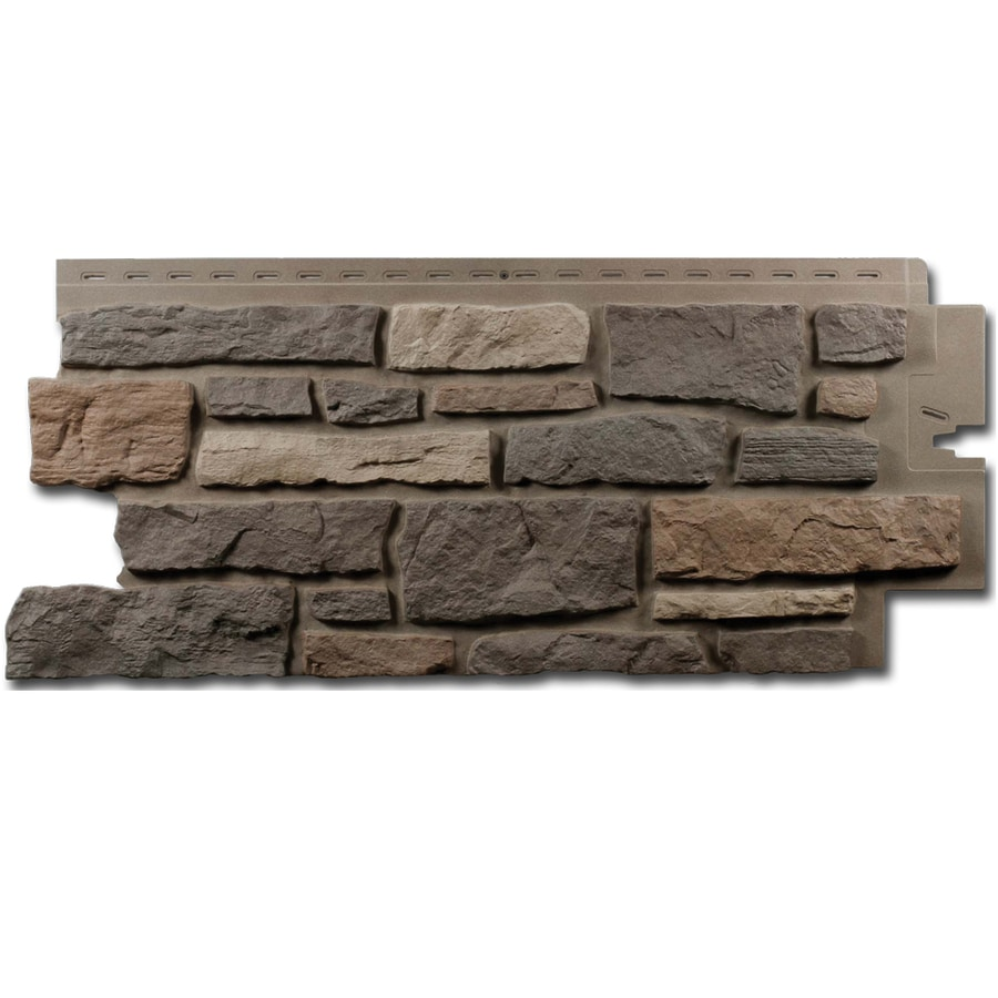 Shop Exteria Building Products Creek Ledgestone Premium