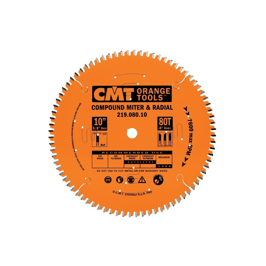 CMT 12-in 90-Tooth Continuous Carbide Circular Saw Blade