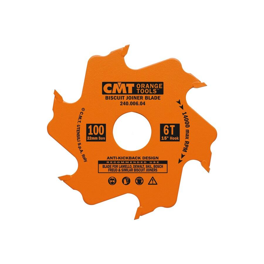CMT 4-in 8-Tooth Continuous Carbide Circular Saw Blade