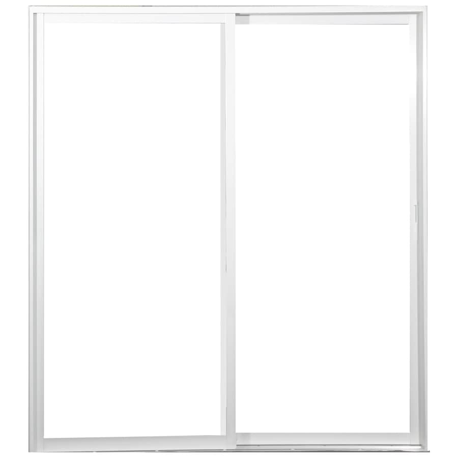 West Palm Single-Glazed Clear Aluminum Sliding  Patio Door
