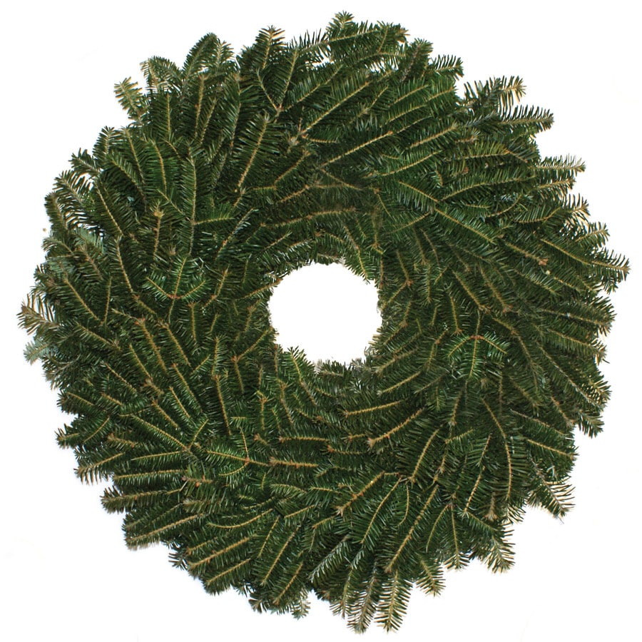 16-in Fresh-Cut Fraser Fir Christmas Wreath