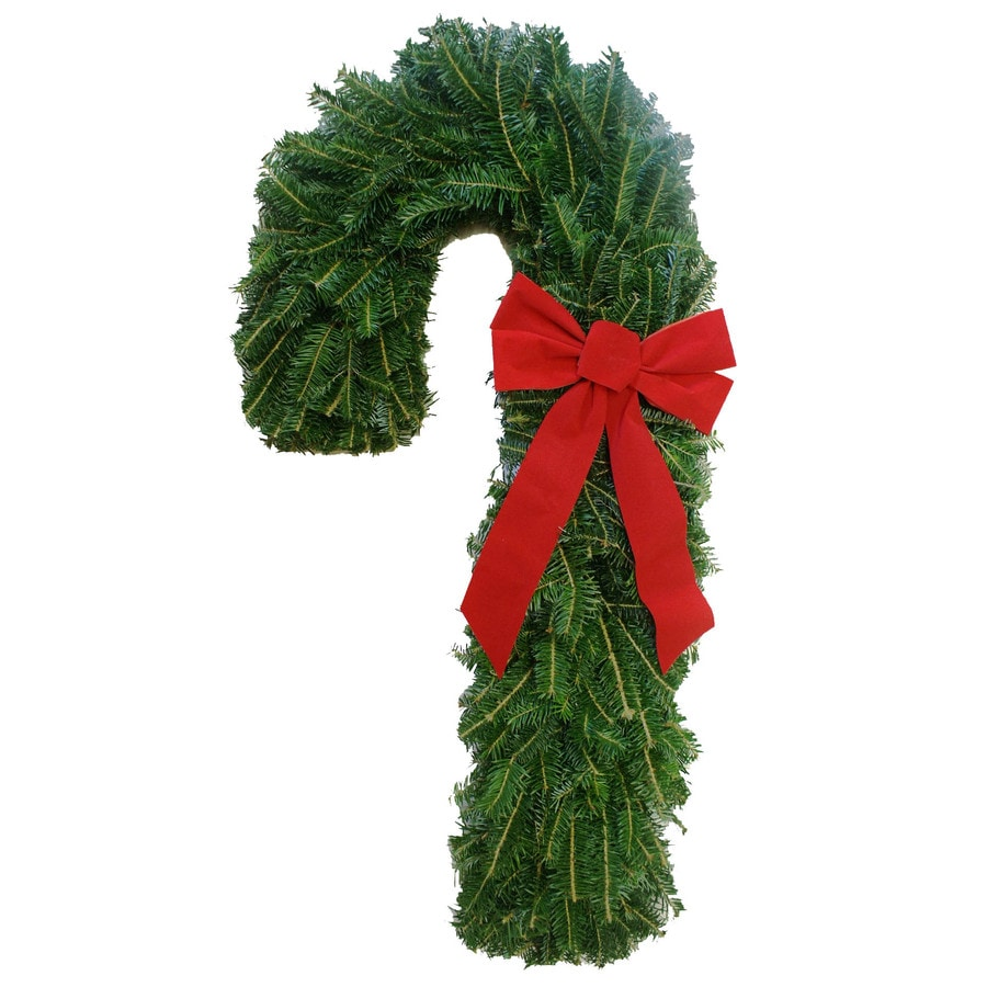 23-in Fresh Fraser Fir Christmas Wreath with Lights