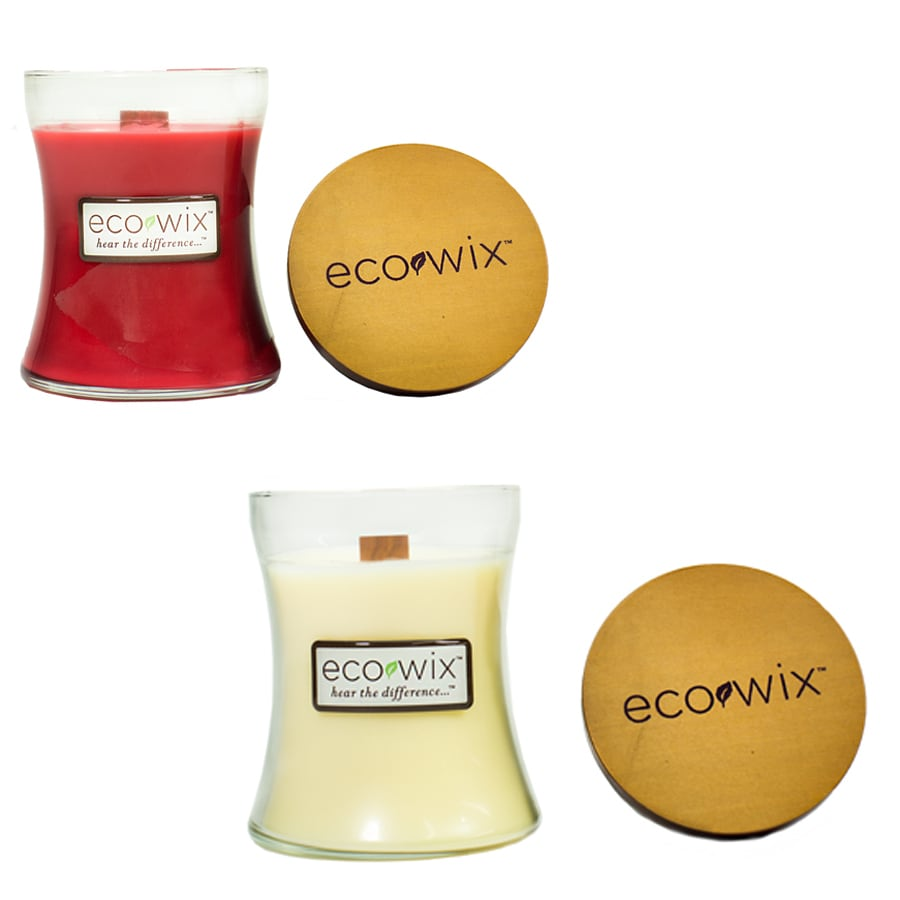 Ecowix Assorted 15-oz Farmstand Apple/Toasted Macaroon Jar Candle