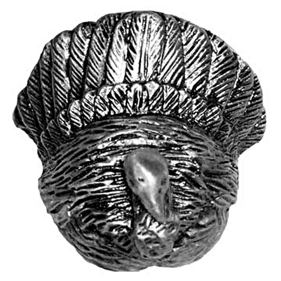 Sierra Pewter Round Cabinet Knob