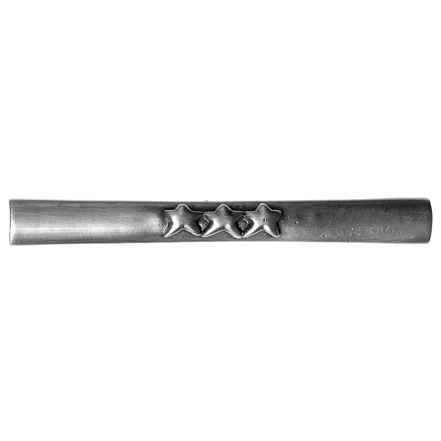 Big Sky Hardware 3-in Center-To-Center Pewter Rectangular Cabinet Pull