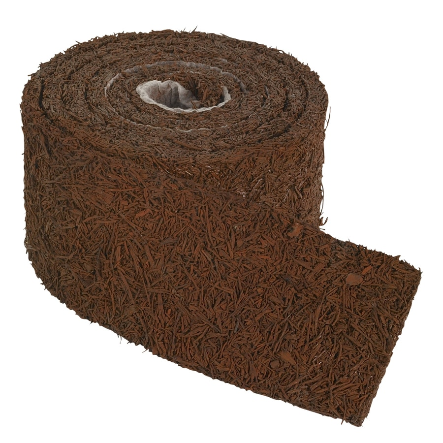Perm-A-Mulch Rubber Mulch 8-ft Red Landscape Edging Roll
