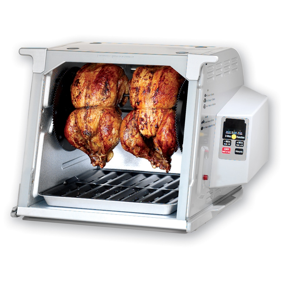 Shop Ronco 1 250 Watt Platinum Countertop Rotisserie Oven