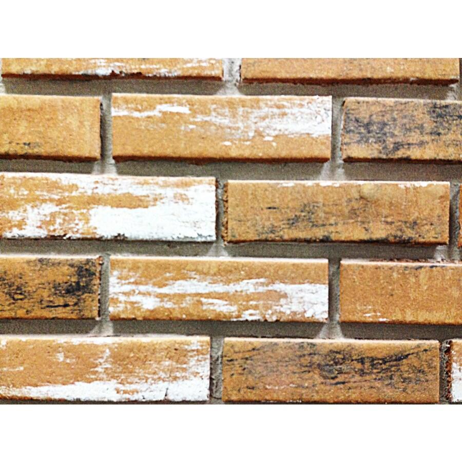 Z-Brick 2.3-in x 8-in Inca Old Chicago Individual Piece Brick Veneer