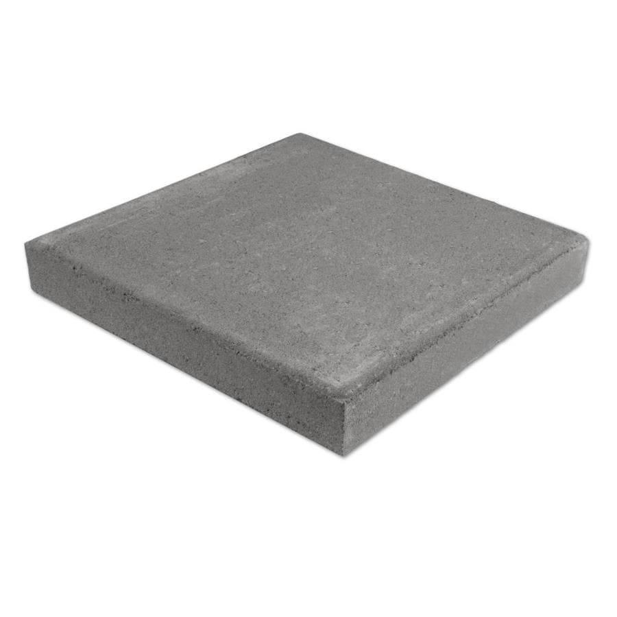 Natural Gray Color Square Concrete Patio Stone (Common: 16-in x 16-in; Actual: 16-in x 16-in)