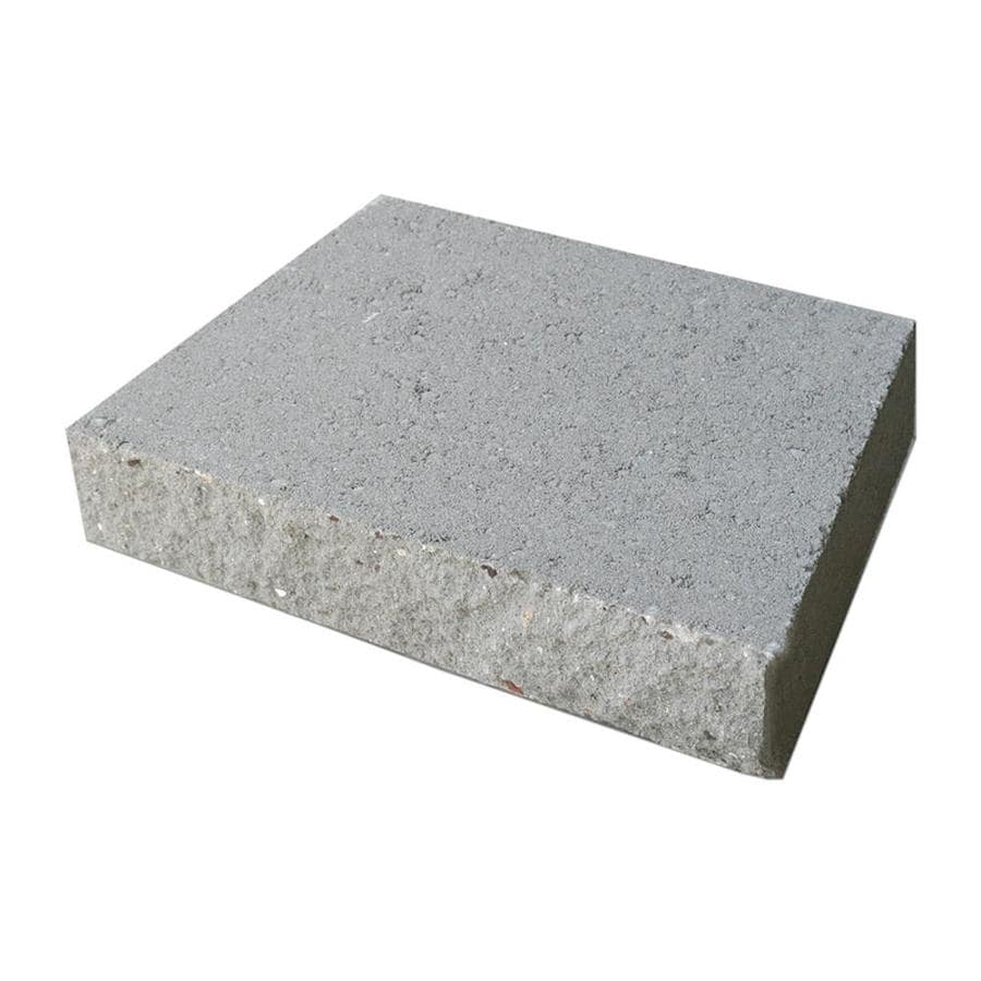 Slate in a Split Face Basic Concrete Retaining Wall Cap (Common: 16-in x 3-in; Actual: 16-in x 3-in)