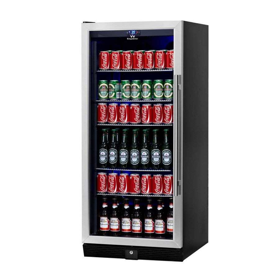 KingsBottle 10.88-cu ft Stainless Built-In/Freestanding Commercial Beverage Center