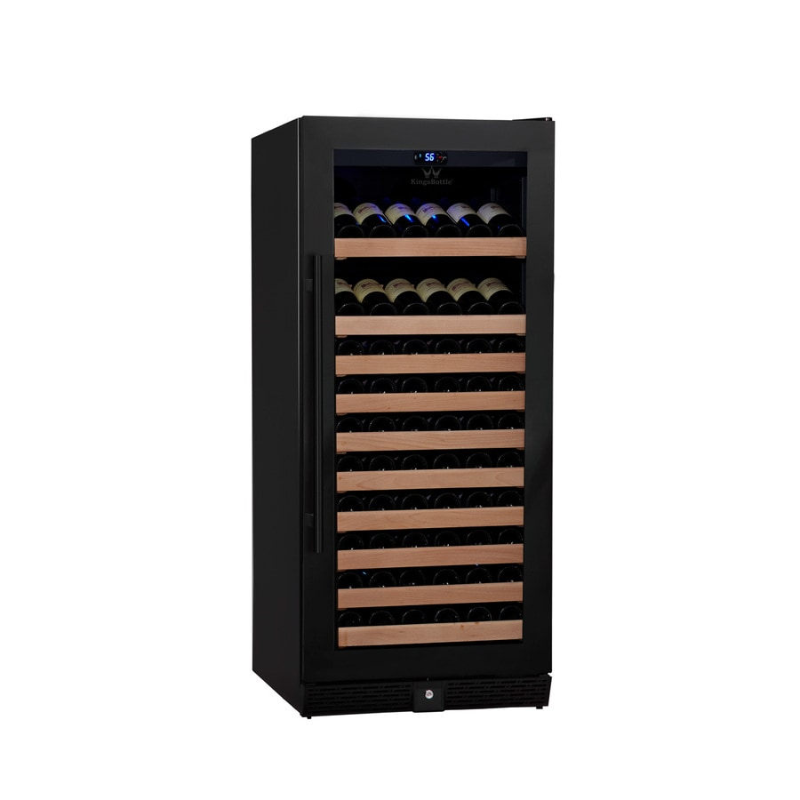 KingsBottle 98-Bottle Black Wine Chiller