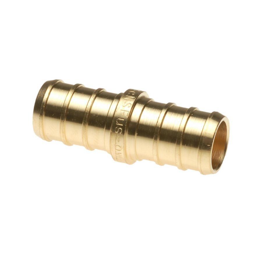 Vanguard 1/2-in Dia Brass PEX Coupling Crimp Fitting