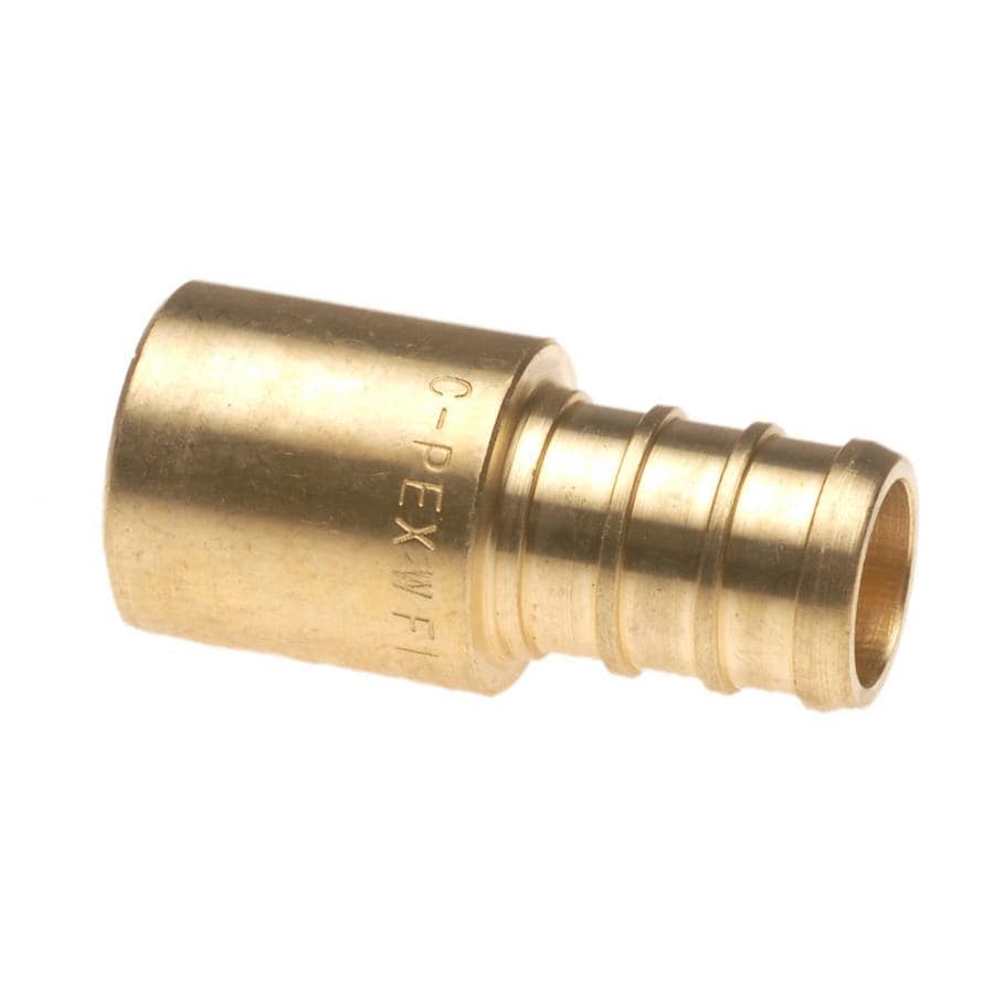 Vanguard 1/2-in Dia Brass PEX Male Adapter Crimp Fitting
