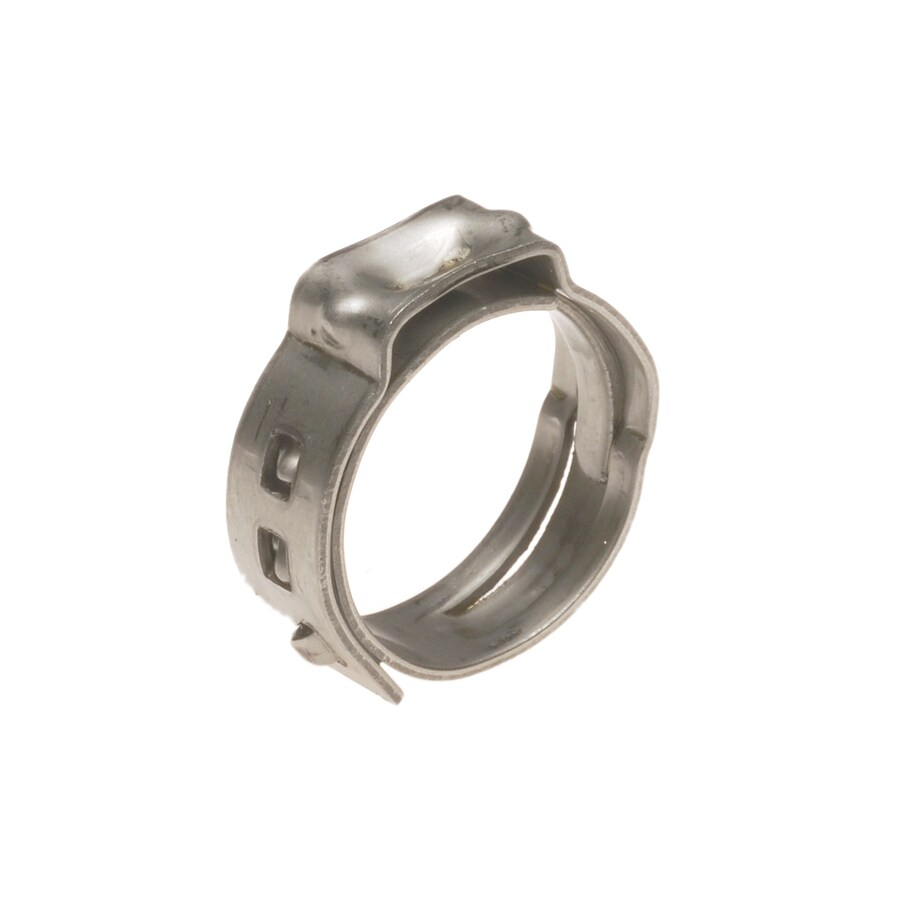 Apollo 10-Pack 1/2-in dia Stainless-Steel PEX Pinch Clamp Crimp Fittings