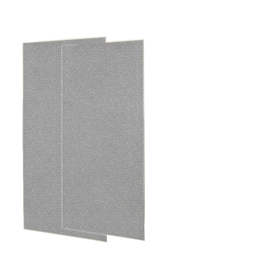 Swanstone Gray Granite Shower Wall Surround Back Panel (Common: 0.25-in; Actual: 72-in x 0.25-in)