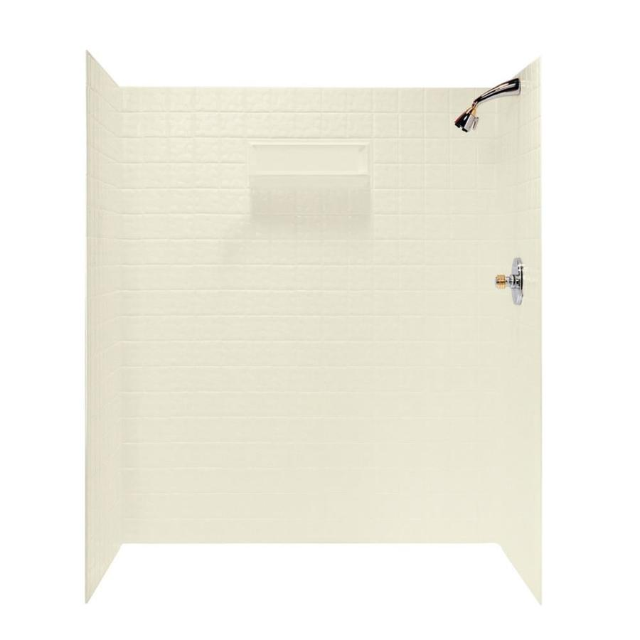 Swanstone Bone Shower Wall Surround Side and Back Panels (Common: 36-in; Actual: 72-in x 36-in)