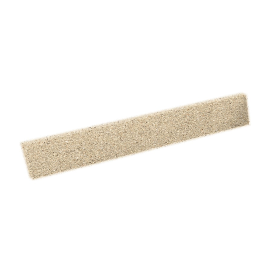 Swanstone 3-in H x 22-in L Bermuda Sand Bathroom Side Splash
