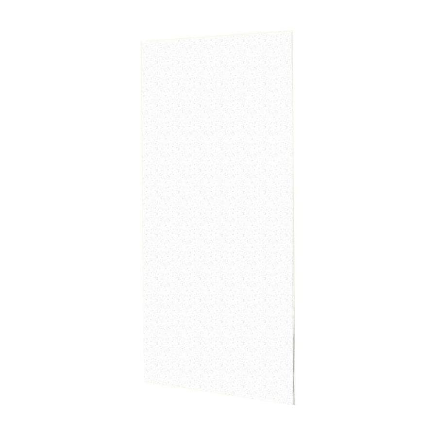 Swanstone Arctic Granite Shower Wall Surround Back Panel (Common: 0.25-in; Actual: 72-in x 0.25-in)