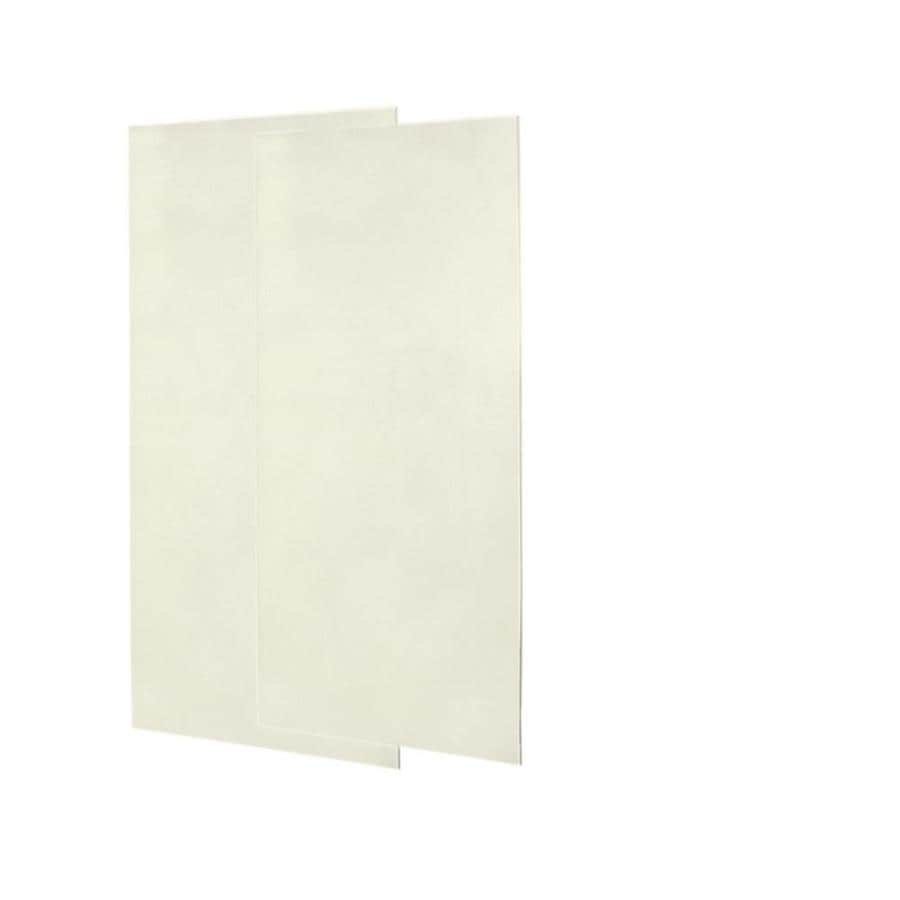 Swanstone Bisque Shower Wall Surround Back Panel (Common: 0.25-in; Actual: 72-in x 0.25-in)