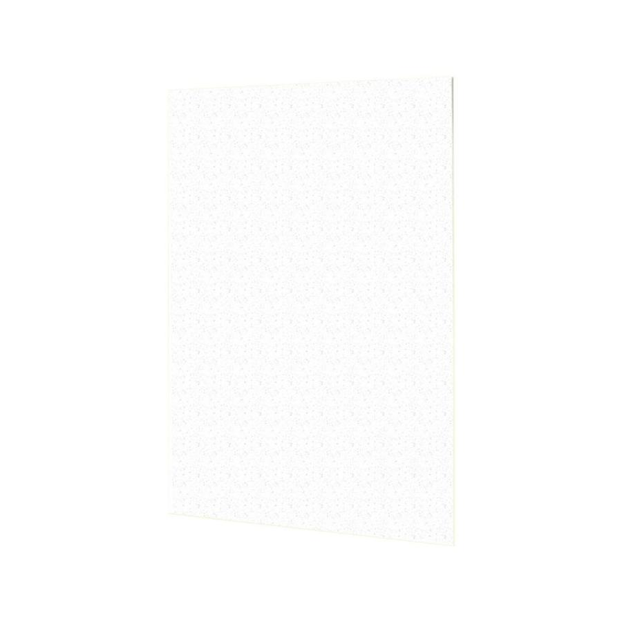 Swanstone Arctic Granite Shower Wall Surround Back Panel (Common: 0.25-in; Actual: 60-in x 0.25-in)