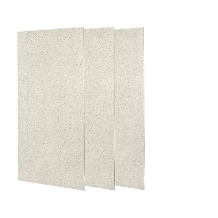 Swanstone Tahiti Matrix Shower Wall Surround Side and Back Panels (Common: 0.25-in; Actual: 72-in x 0.25-in)