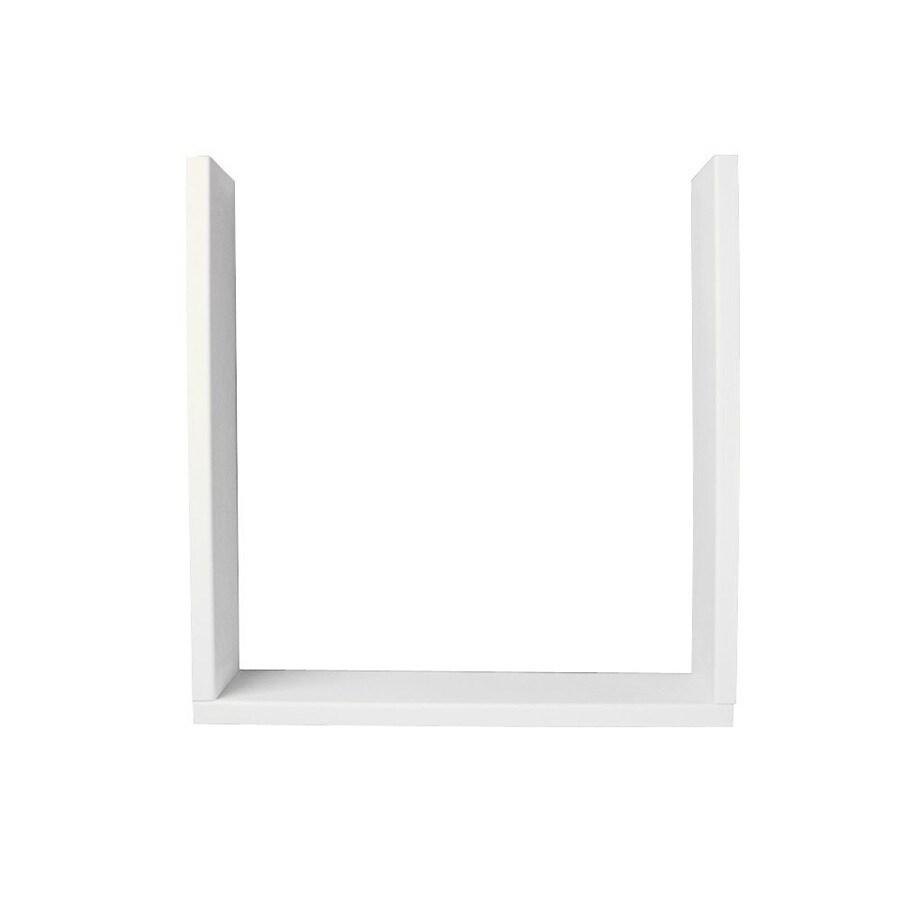 Swanstone Tahiti Ivory Shower Wall Window Trim Kit