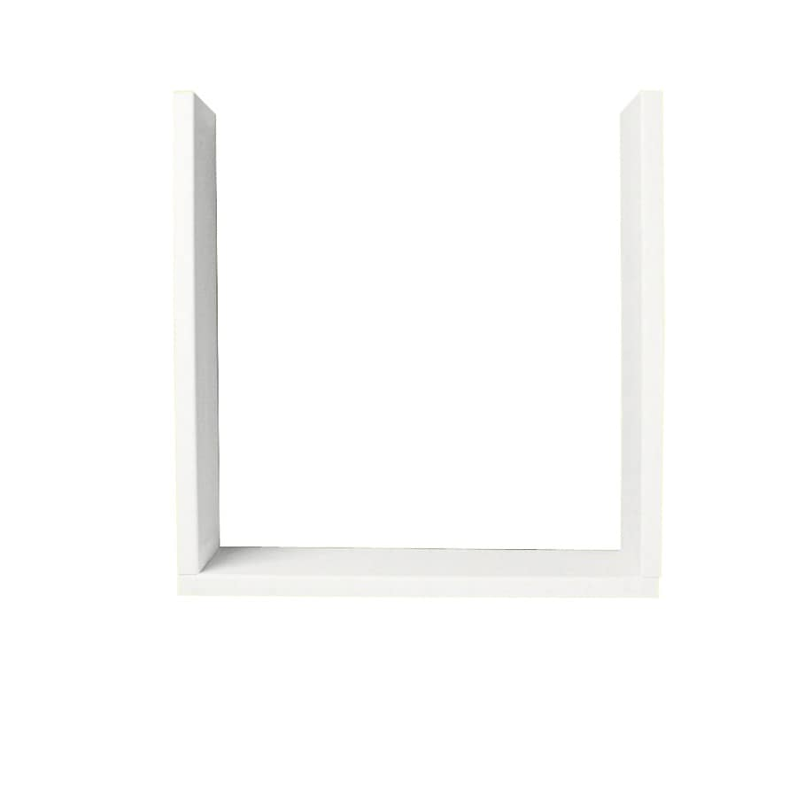 Swanstone Tahiti White Shower Wall Window Trim Kit