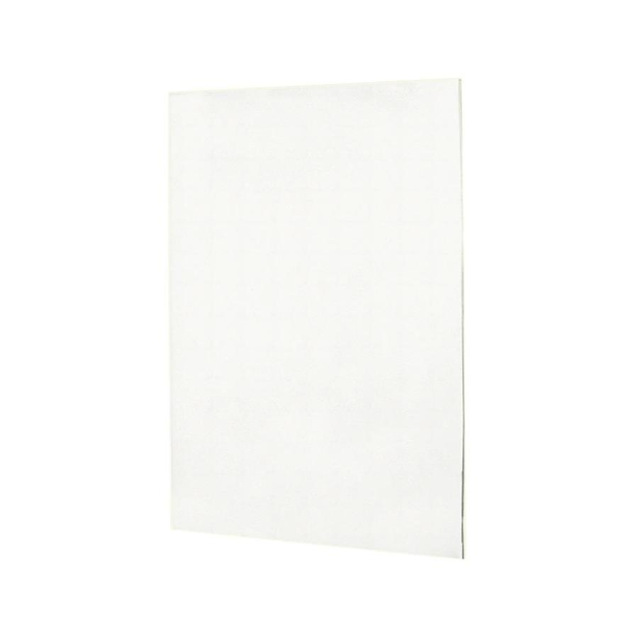 Swanstone Tahiti White Shower Wall Surround Back Panel (Common: 0.25-in; Actual: 60-in x 0.25-in)
