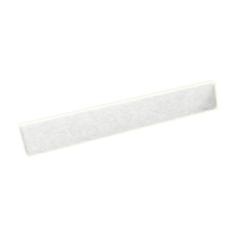 Swanstone 3-in H x 19-in L White Bathroom Side Splash