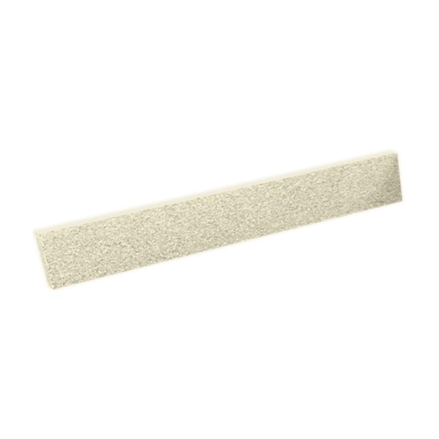 Swanstone 3-in H x 22.25-in L Bone Bathroom Side Splash