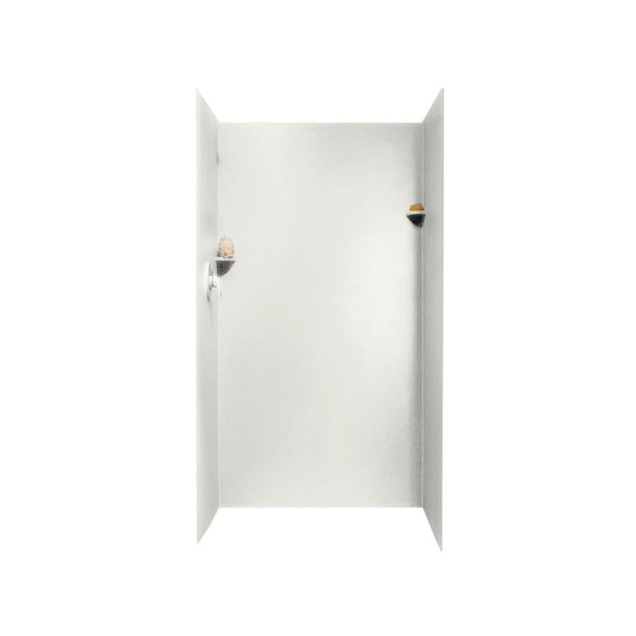 Swanstone Bisque Shower Wall Surround Side and Back Panels (Common: 36-in; Actual: 72-in x 36-in)