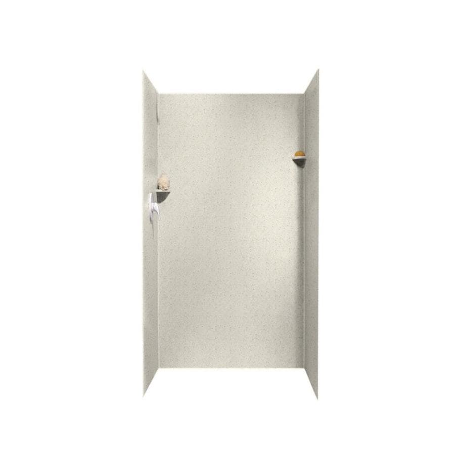 Swanstone Tahiti Matrix Shower Wall Surround Side and Back Panels (Common: 36-in; Actual: 72-in x 36-in)