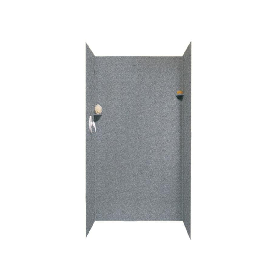 Swanstone Night Sky Shower Wall Surround Side and Back Panels (Common: 36-in; Actual: 72-in x 36-in)