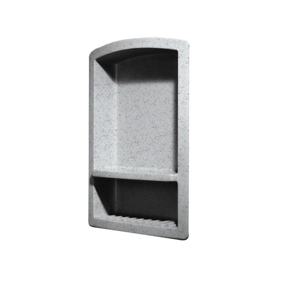 Swanstone Tahiti Gray Composite Soap Dish
