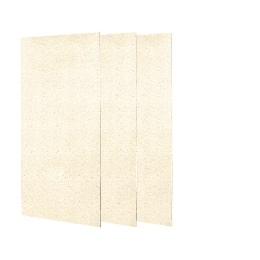 Swanstone Pebble Shower Wall Surround Side and Back Panels (Common: 0.25-in; Actual: 72-in x 0.25-in)