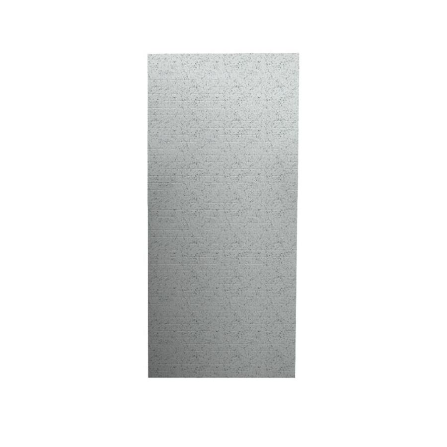 Swanstone Tahiti Gray Shower Wall Surround Back Panel (Common: 0.25-in; Actual: 96-in x 0.25-in)