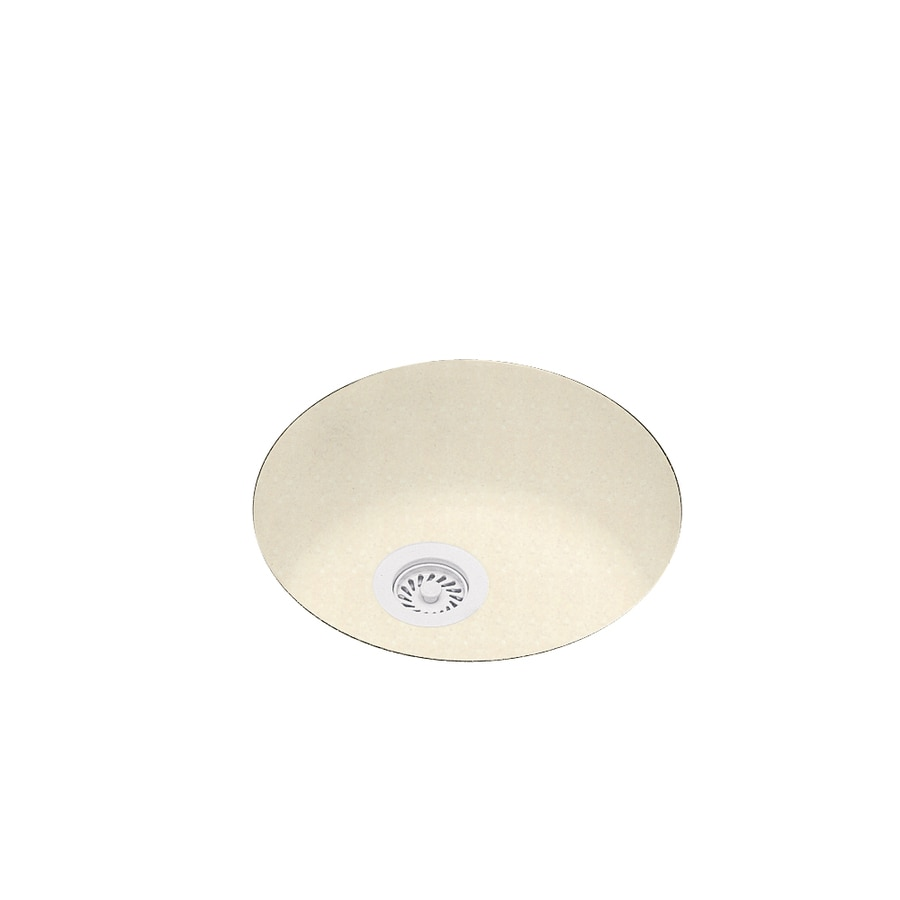 Swanstone 18.5-in x 21.5-in Pebble Single-Basin Composite Undermount Residential Kitchen Sink