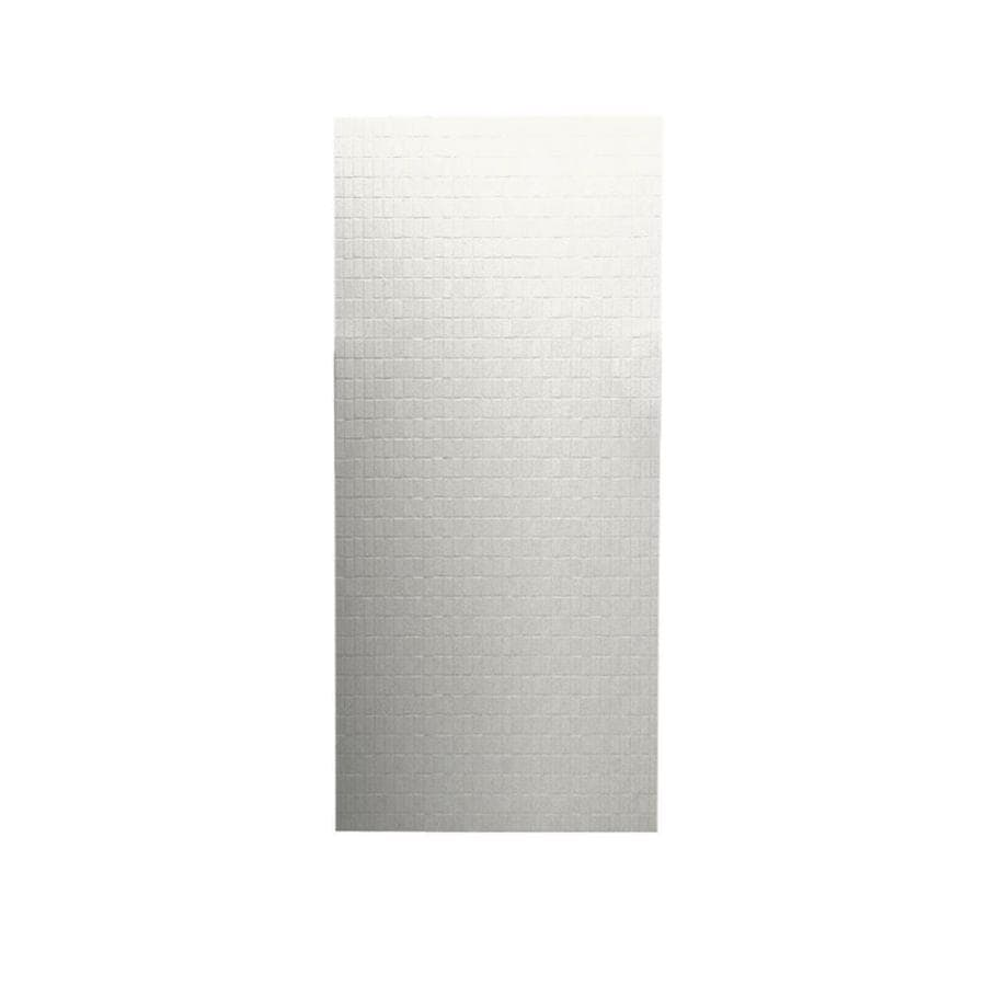 Swanstone Bisque Shower Wall Surround Back Panel (Common: 0.25-in; Actual: 96-in x 0.25-in)
