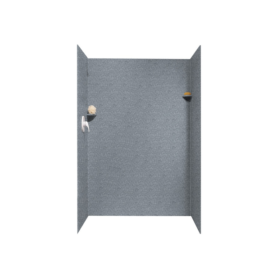 Swanstone Night Sky Shower Wall Surround Side and Back Panels (Common: 32-in; Actual: 72-in x 32-in)