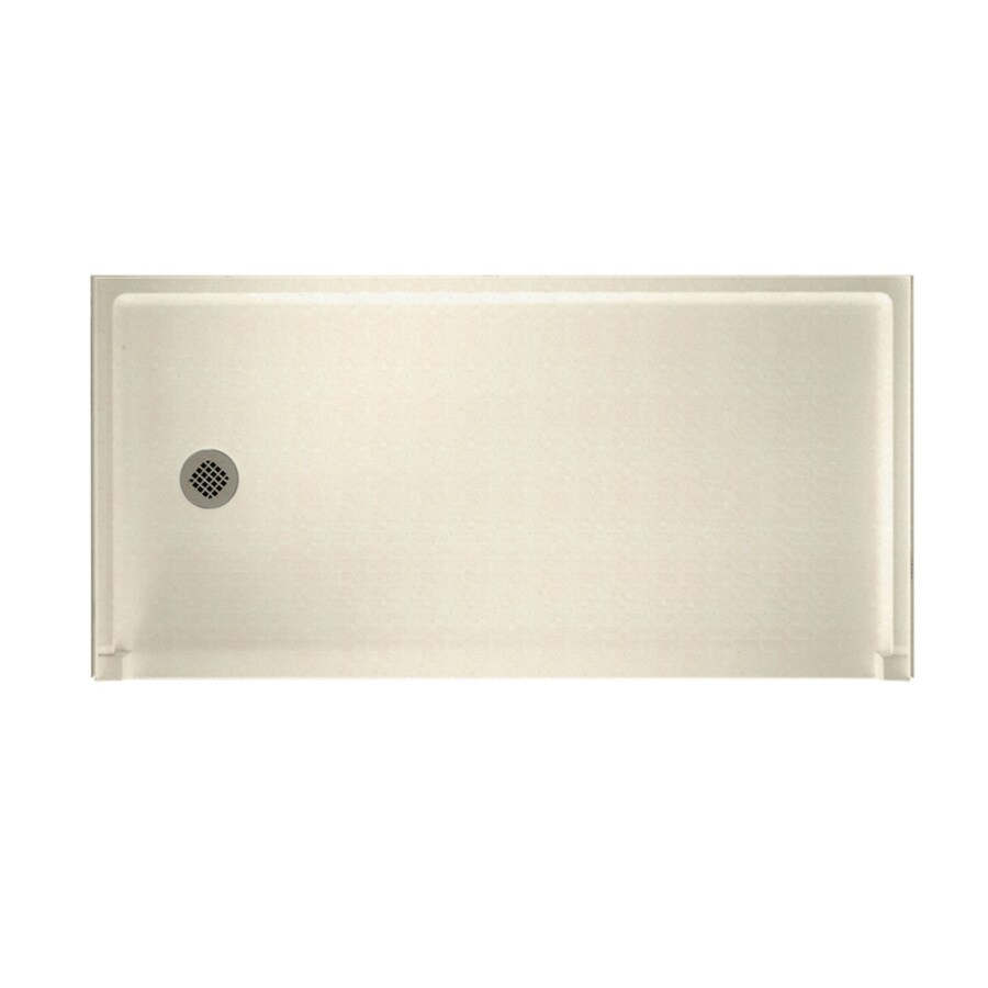 Swanstone Pebble Solid Surface Shower Base (Common: 30-in W x 60-in L; Actual: 30-in W x 60-in L)