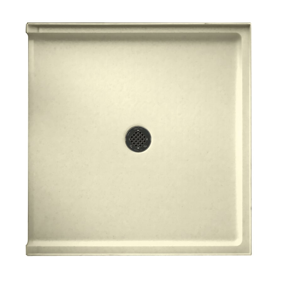 Shop Swanstone Bone Solid Surface Shower Base Common 37