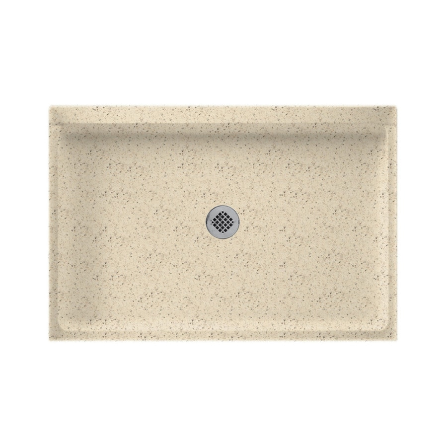 Swanstone Tahiti Desert Solid Surface Shower Base (Common: 32-in W x 48-in L; Actual: 32-in W x 48-in L)