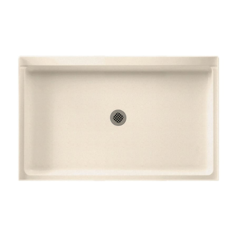 Swanstone Tahiti Sand Solid Surface Shower Base (Common: 34-in W x 54-in L; Actual: 34-in W x 54-in L)