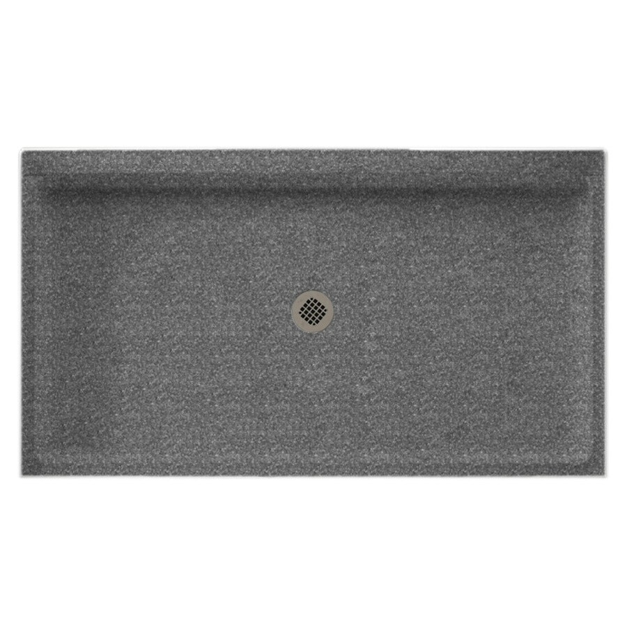 Swanstone Night Sky Solid Surface Shower Base (Common: 34-in W x 60-in L; Actual: 34-in W x 60-in L)