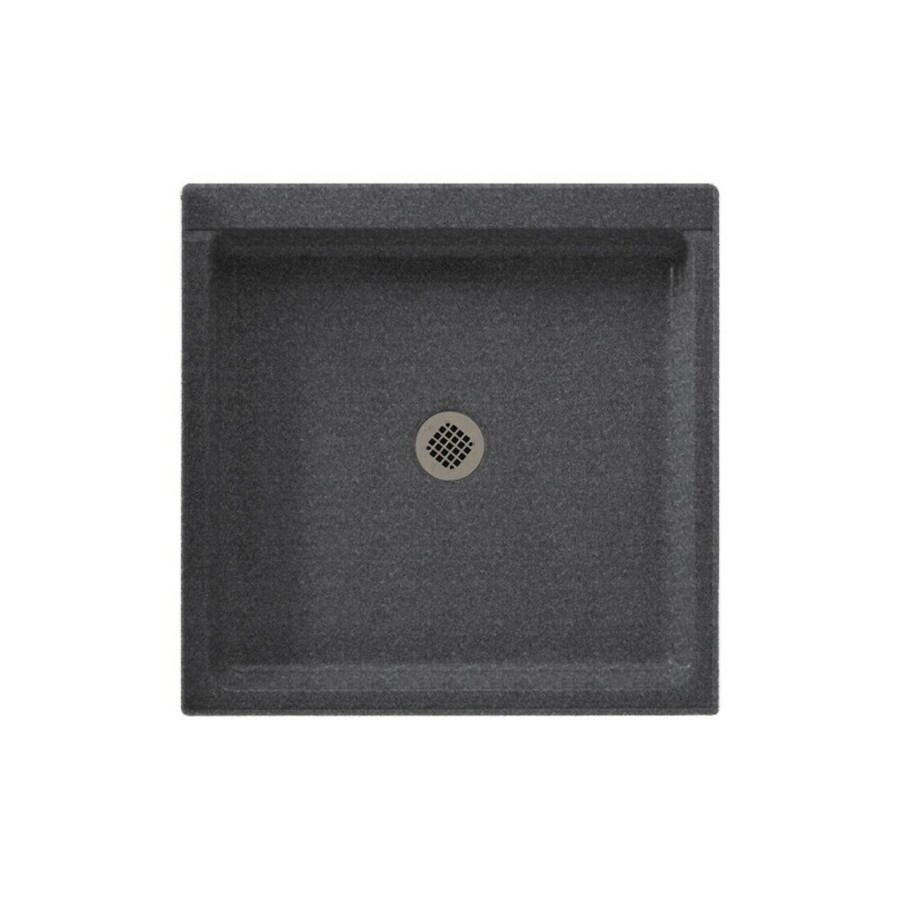 Swanstone Night Sky Solid Surface Shower Base (Common: 42-in W x 42-in L; Actual: 42-in W x 42-in L)