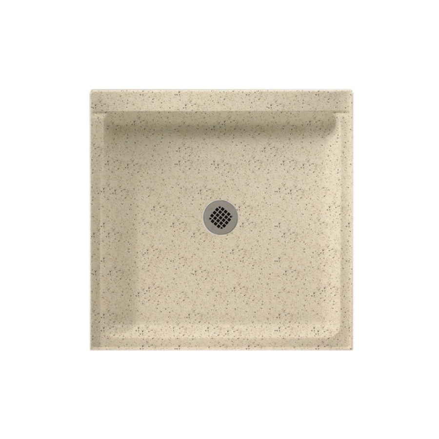 Swanstone Tahiti Desert Solid Surface Shower Base (Common: 42-in W x 42-in L; Actual: 42-in W x 42-in L)