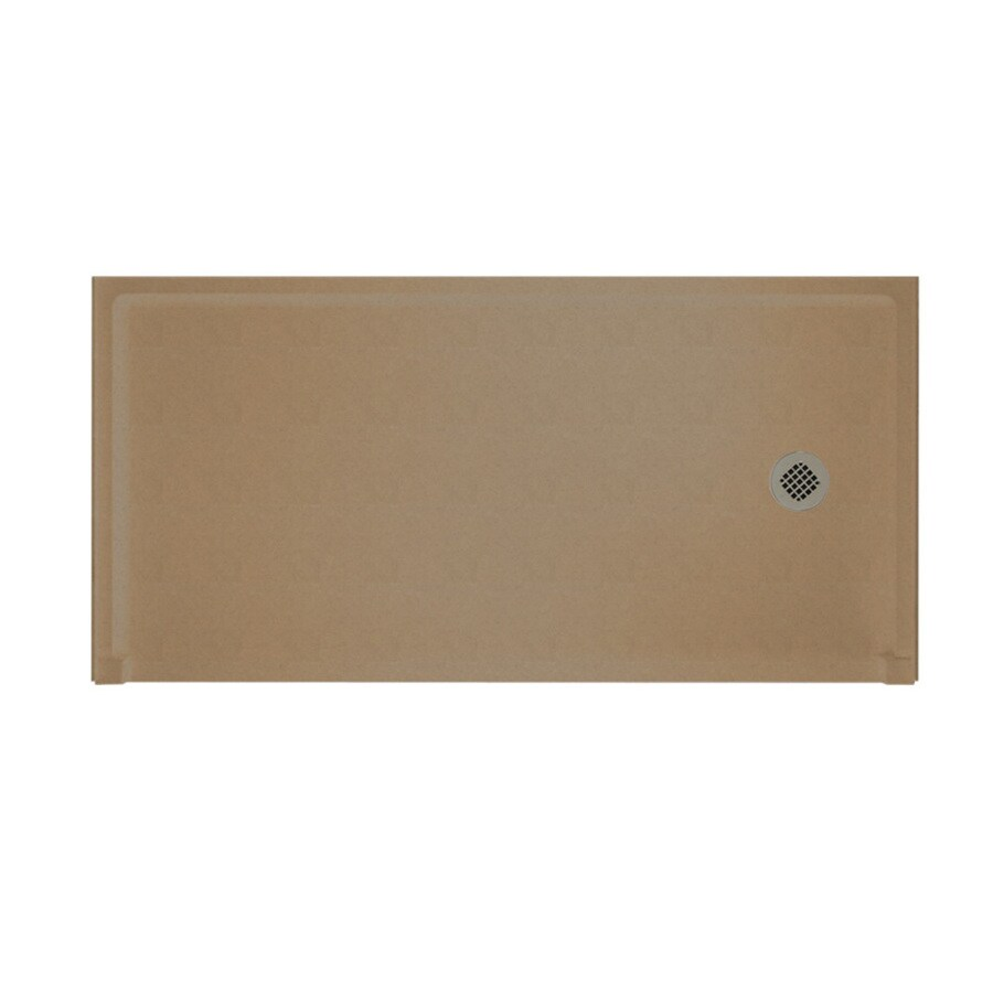 Shop Swanstone Barley Solid Surface Shower Base Common