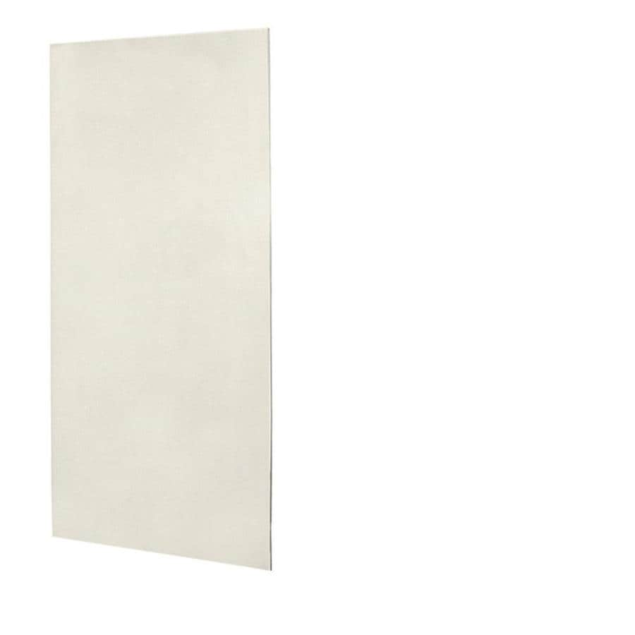 Shop Swanstone Glacier Solid Surface Shower Wall Surround